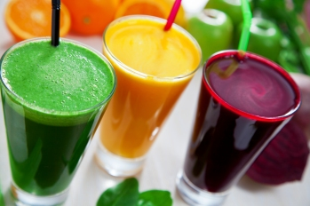 Beetroot, apple and celery juice.